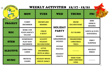 WeeklyActivites12.17