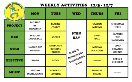 WeeklyActivites12.3