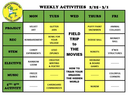 WeeklyActivites2.25