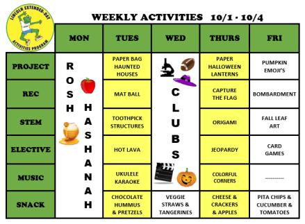 WeeklyActivites10.1.19