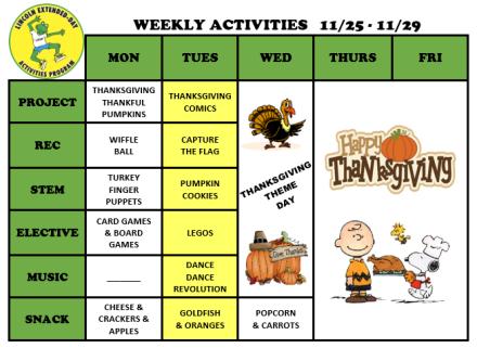 WeeklyActivites11.25.19