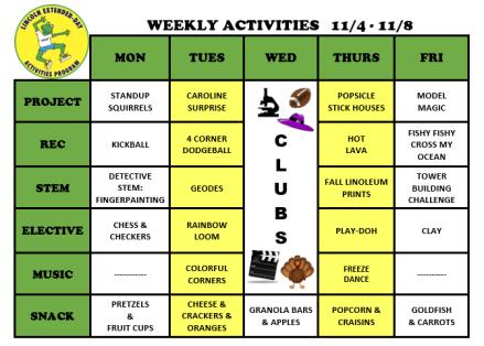 WeeklyActivites11.4.19