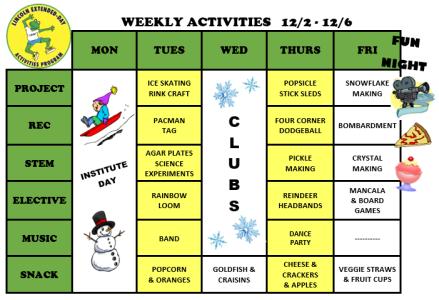 WeeklyActivites12.2.19