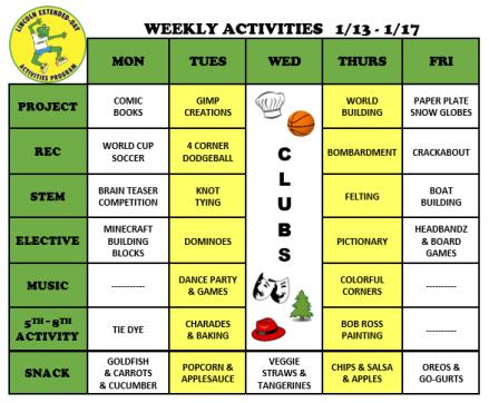 WeeklyActivites1.13.20