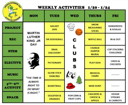 WeeklyActivites1.20.20