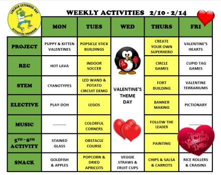 WeeklyActivites2.10.20