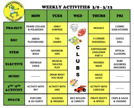 WeeklyActivites3.9.20