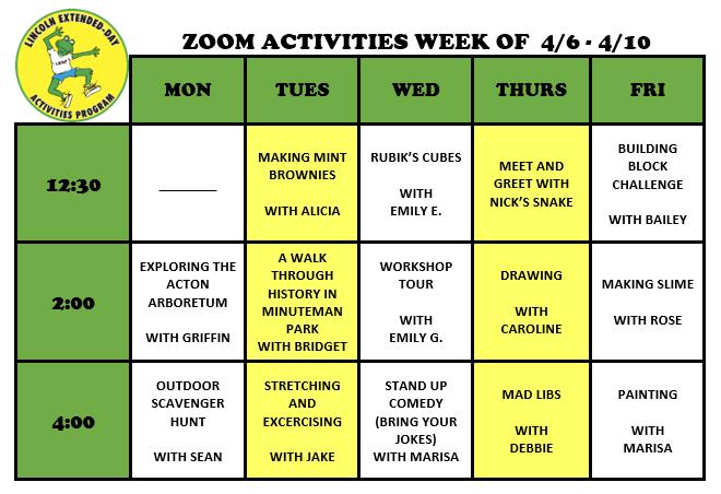 ZoomWeeklyActivities4.6.20